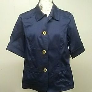 NWT. Cold water Creek Shaped Jacket Sz. 14 Misses